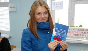 Выборы в Барнауле.