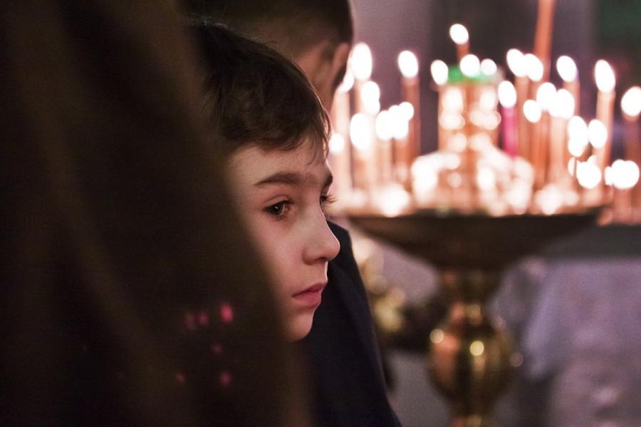 Рождество Христово. 2013 год. Барнаул,  храм преподобного Антония Киево-Печерского.