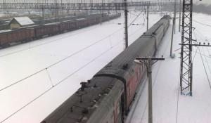 Поезд РЖД.