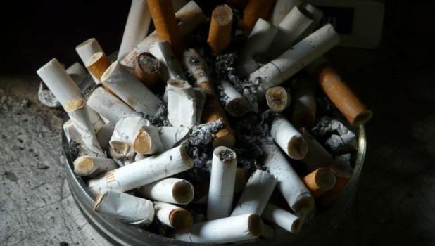 Курение.