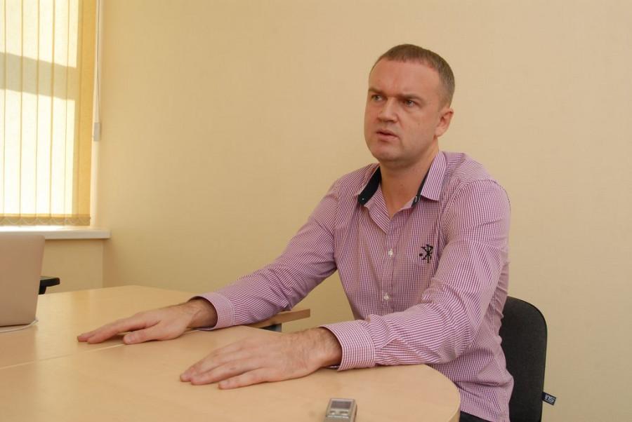 """Виталий Смокотин, генеральный директор компании """"Мартика""""."""