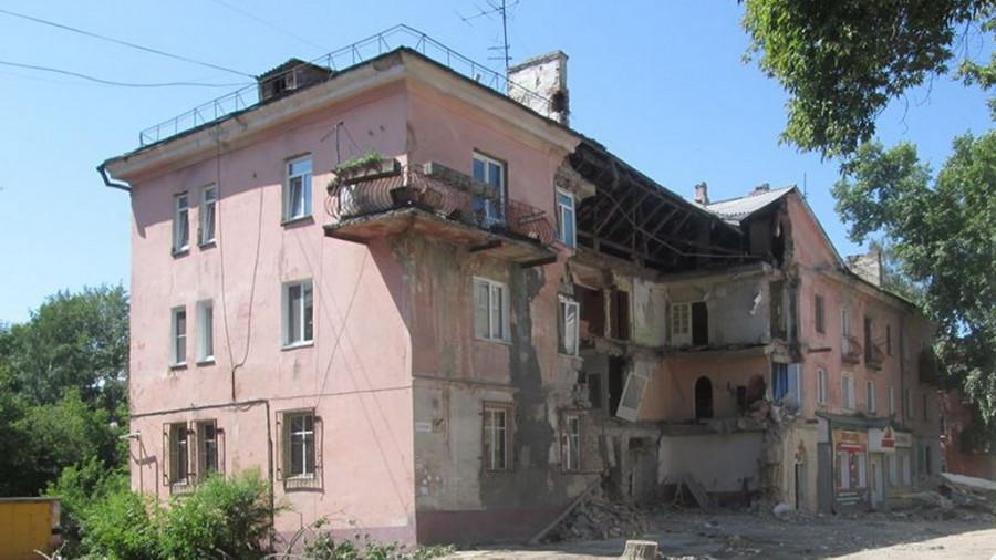 Дом №33 по улице Эмилии Алексеевой.
