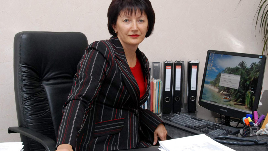 """Зинаида Герасимович, директор компании ОАО """"Барнаулкапстрой""""."""