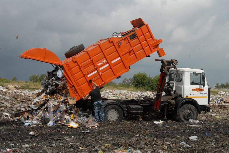 Барнаульский полигон бытовых отходов.