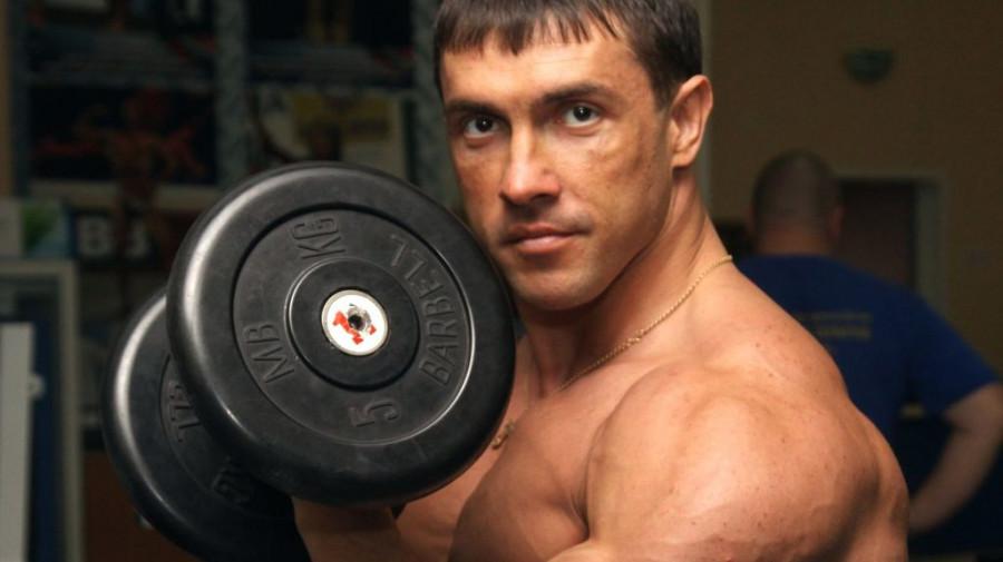 Александр Барбашин, барнаульский атлет.