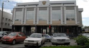 Парламентский центр в Барнауле.