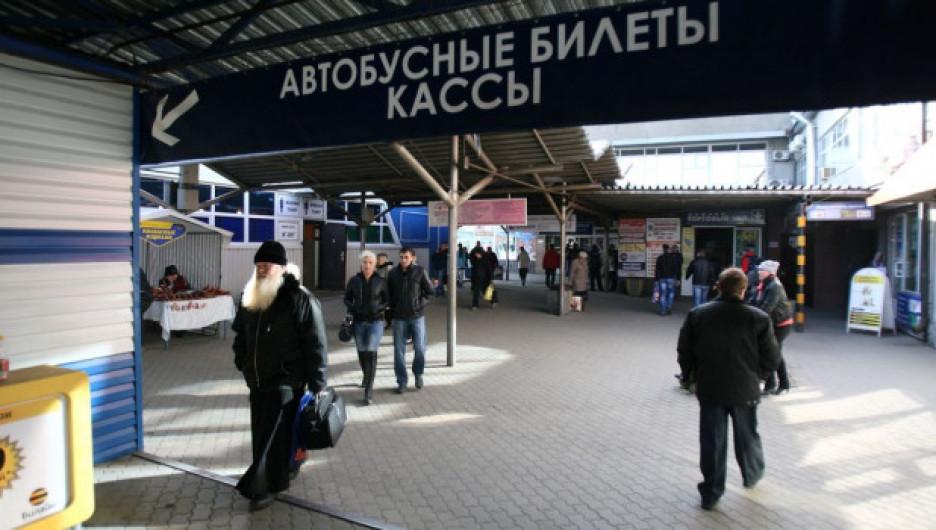 Барнаульский автовокзал.