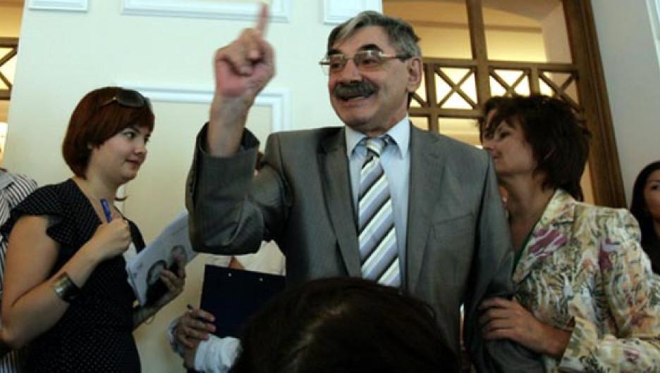 Александр Панкратов-Черный на открытии Шукшинского кинофестиваля. Барнаул, 22 июля 2009 года.