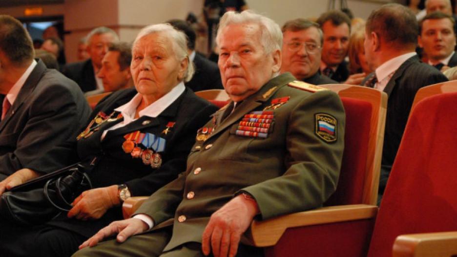 Михаил Калашников на Алтае.