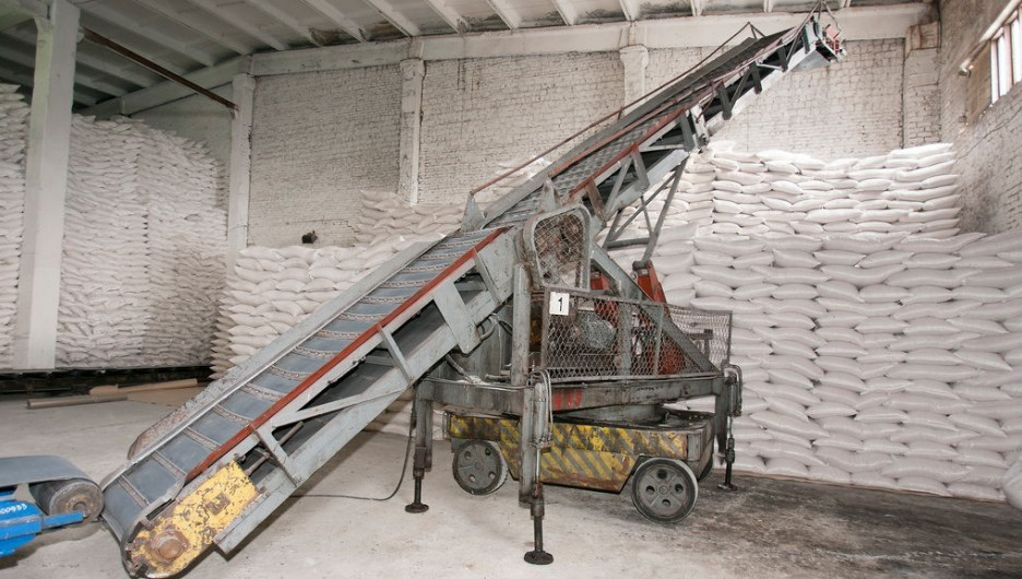 На Черемновском сахарном заводе.