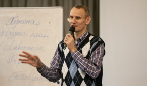 """Валерий Покорняк участвует в проекте """"Школа успеха""""."""