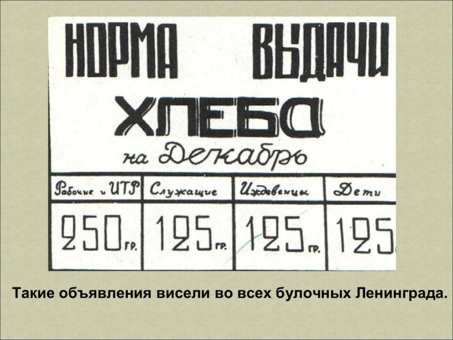 """Презентация """"Блокада Ленинграда""""."""