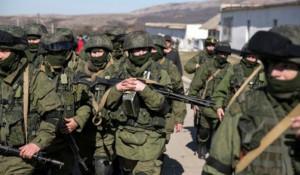 """""""Вежливые люди"""" в Крыму."""