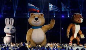 Церемония закрытия Олимпиады в Сочи.