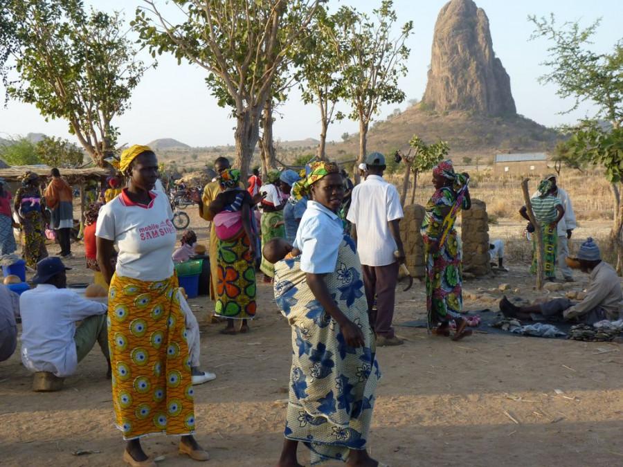В Центральной Африке.