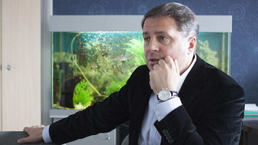 """Экс-директор """"АлтайБаскета"""" Михаил Панфилов."""