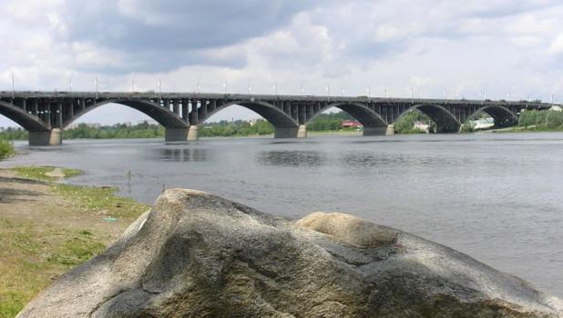 Коммунальный мост Бийска.
