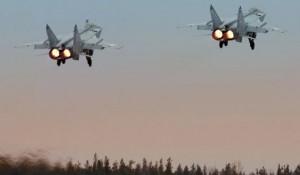 Лётчики ЦВО перехватили самолёты условного противника в небе Поволжья, Урала и Сибири.