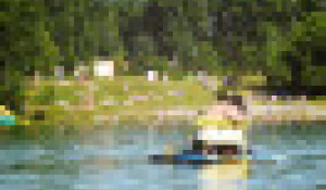 На озере Ая.