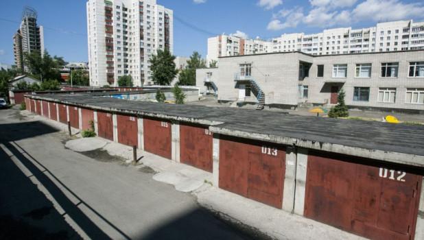 Скоро центр Барнаула потеряет еще три десятка гаражей.