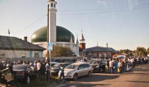 Ураза-Байрам в Барнауле, 28 июля 2014 года.