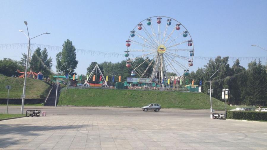 """Парк """"Барнаульская крепость""""."""