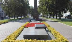 "Мемориал ""От борющихся павшим борцам за социализм""."
