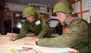 Военные командно-штабные учения.