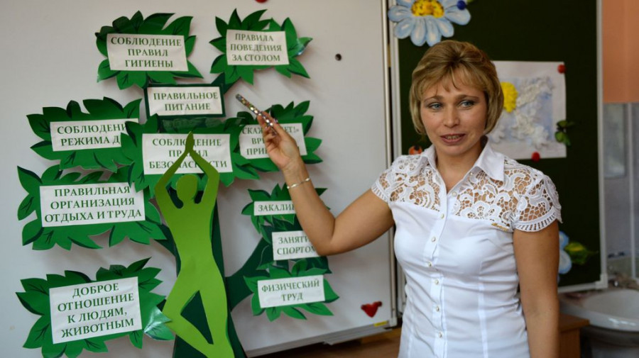 Любовь Каменева, учитель начальных классов барнаульской гимназии №5.