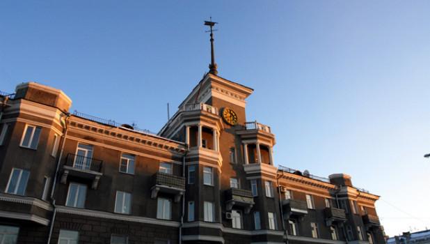Площадь Октября, г.Барнаул.