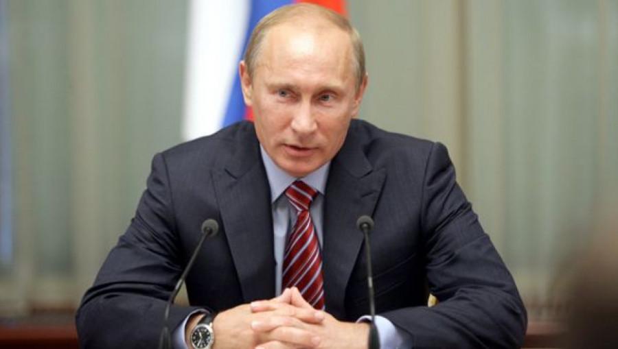 Владимир Путин, президент РФ.