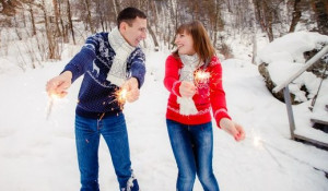Новый год на Алтае