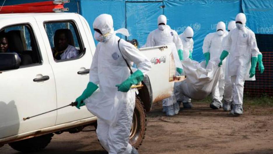 Лихорадка Эбола.