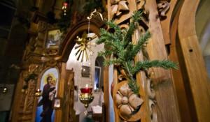 Рождество в Барнауле, 7 января 2015.