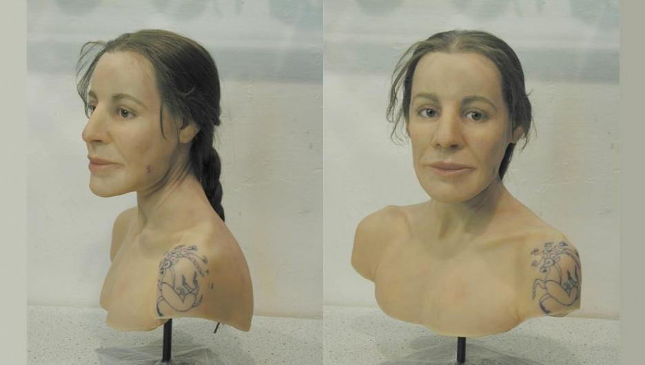 В Германии воссоздали облик современницы  знаменитой принцессы Кадын.