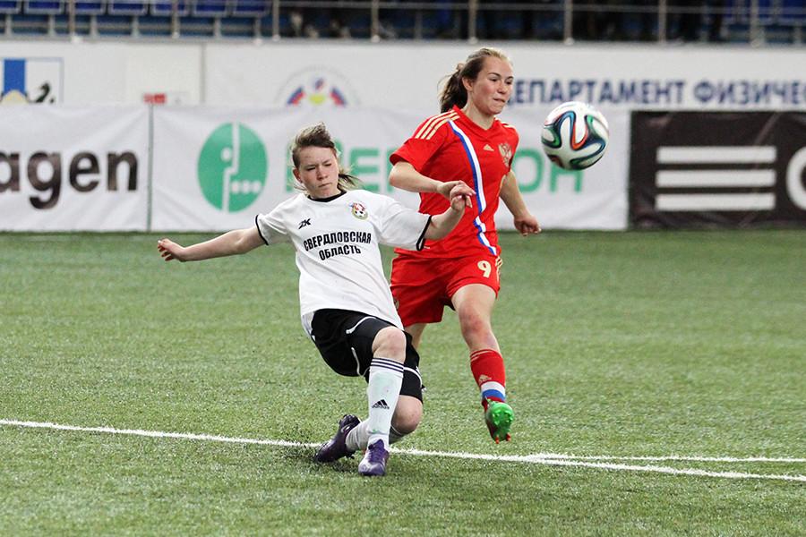 Женский футбол.