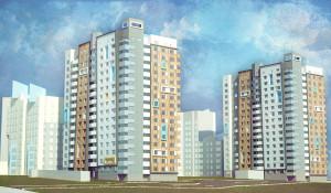 Проект новостройки по ул. Димитрова, 150.
