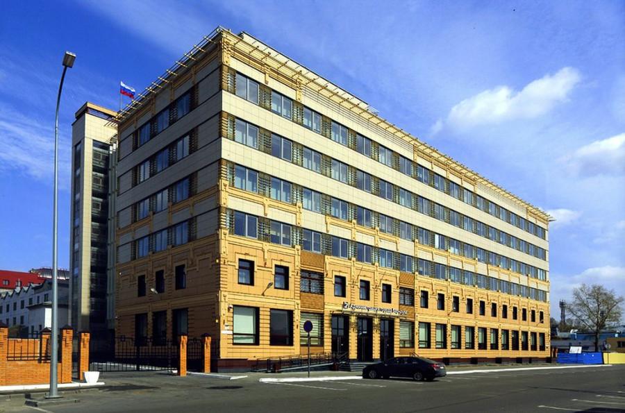 Здание администрации Барнаула на улице Гоголя, 48.