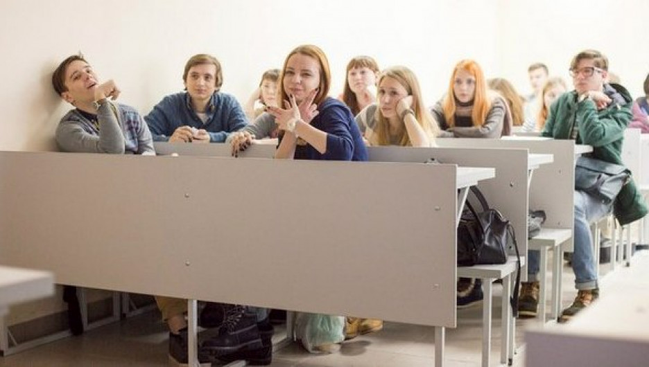 Студенты Барнаула