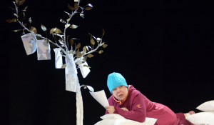 """Актриса Надежда Царинина сыграет в спектакле """"Оскар и Розовая Дама"""" сразу две роли."""