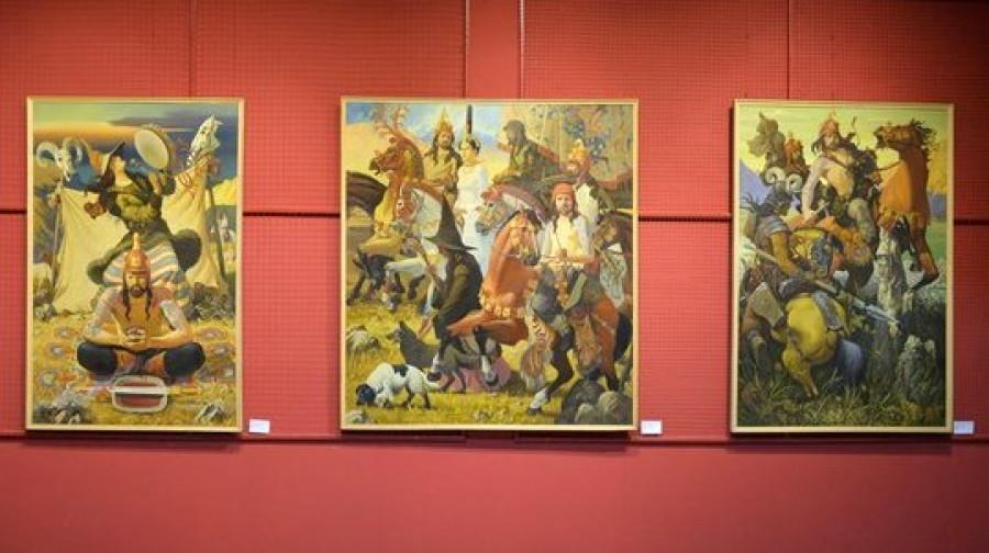 """Выставка-аукцион в галерее """"Республика ИЗО"""""""