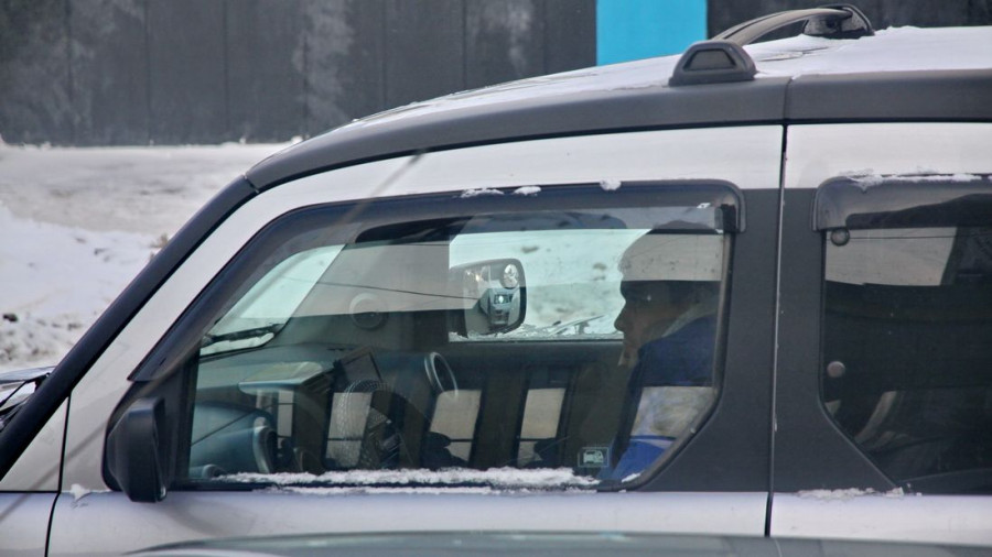 Автомобиль в Барнауле.