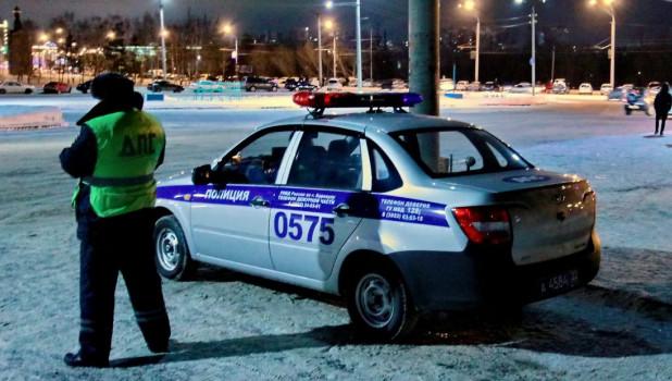 ДПС в Барнауле.
