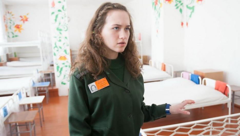 Татьяна Андреева в женской колонии.