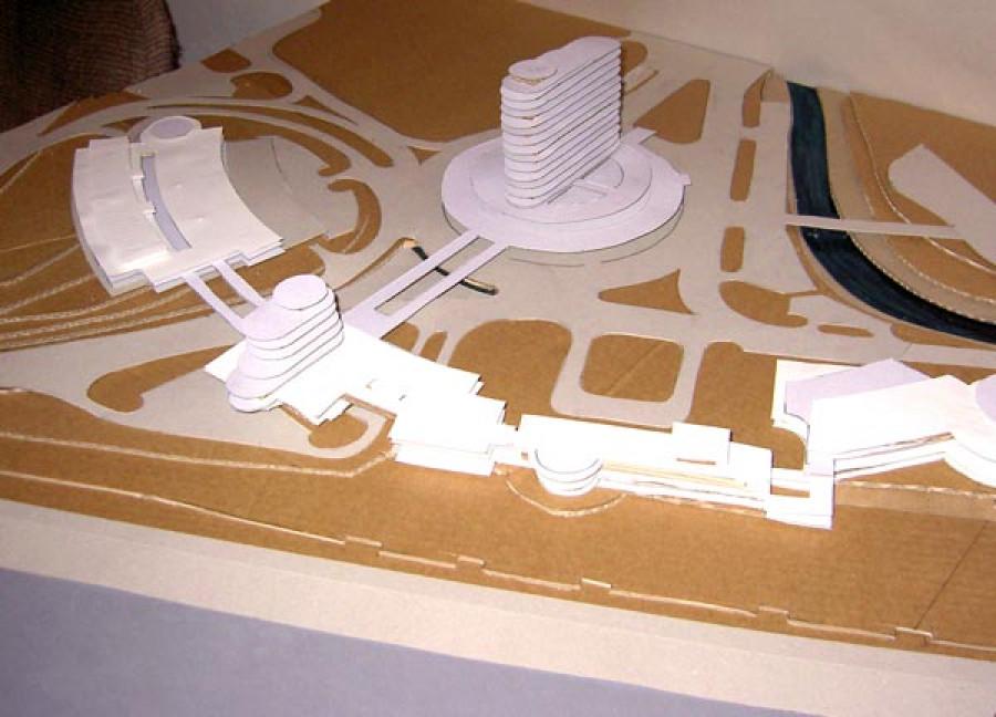 Проекты реконструкции Речного вокзала от 2006 года.