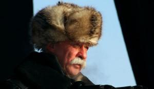 Леонид Якубович на авиашоу в Барнауле.