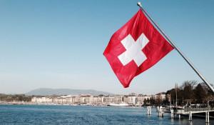 Женевское озеро, Швейцария.