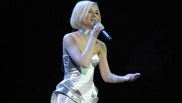 Полина Гагарина дала концерт в Барнауле.