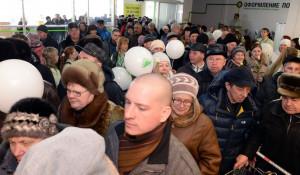 """В Барнауле открылся первый магазин """"Леруа Мерлен""""."""