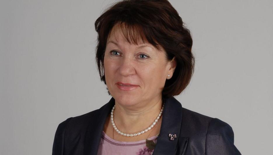 Татьяна Зеленина, начальник управления Алтайского края по пищевой промышленности.